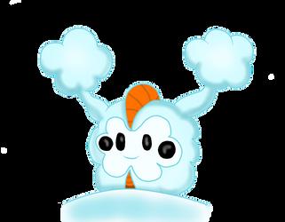SnowyCosmog by Morshute