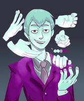 #9 reigen arataka by flunkly