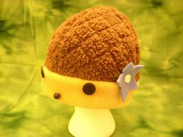 Truffles the Hedgehog Hat by PyrgusMalvae