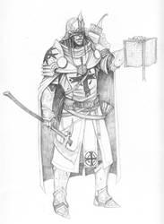 Paladin of St. Cuthbert by Razeil753