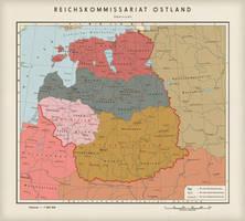Reichskommissariat Ostland by 1Blomma