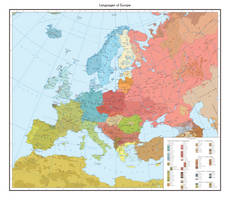 Linguistic map of Europe by 1Blomma