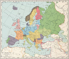 Europe after a Central Powers victory by 1Blomma