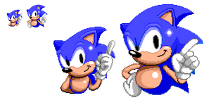 Sonic Mania x Sonic The Hedgehog (Pixel Art) by DarkTremor100