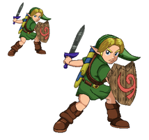Young Link - Ultimate (Pixel-Art) by DarkTremor100