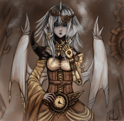 . Steampunk . by Nahamut