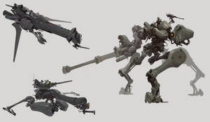 SKETCH-Mechanical armor by Drock-Nicotine