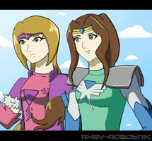 Pz Request-Roxanne and Titania by Rhay-Robotnik