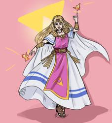Zelda by Cadetheespeon