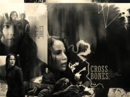 cross bones by RavenOrlov