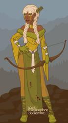 Viking Archer Girl by Nameless75