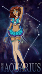 Sailor Zodiac: Aquarius by SarahsPlushNStuff