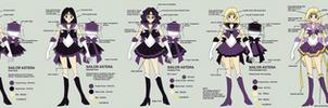 Sailor Astera Reference by SarahsPlushNStuff