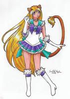 Sailor Nya-Nya Astera by SarahsPlushNStuff