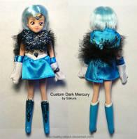 Custom - Dark Mercury Doll by SarahsPlushNStuff