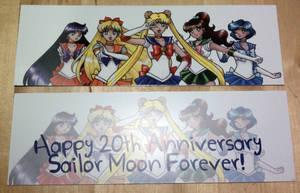 Sailormoon Bookmarks by SarahsPlushNStuff