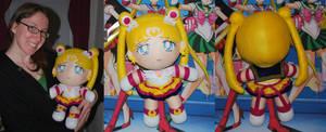 Eternal Sailor Moon 18'' Plushie by SarahsPlushNStuff