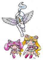 Sailormoon SuperS Chibi Love by SarahsPlushNStuff