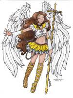 Sailor Archangel by SarahsPlushNStuff