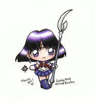 Sailor Moon - Chibi Sailor Saturn by SarahsPlushNStuff