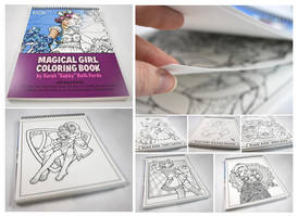 Magical Girl Coloring Book - AVAILABLE NOW! by SarahsPlushNStuff