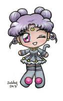 Human Diana Chibi - Sailor Moon by SarahsPlushNStuff