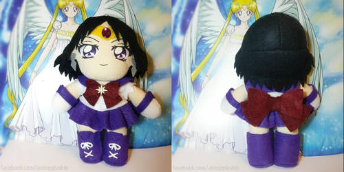 Free Plush Giveaway Winner - Crystal Sailor Saturn by SarahsPlushNStuff
