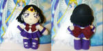 Free Plush Giveaway Winner - Crystal Sailor Saturn by SarahsPlushNStuff