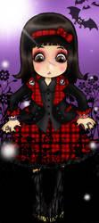 lolita punk fille by Snapesita