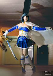 PMMM: Sayaka Miki- Blue Knight by BlackRoseMikage