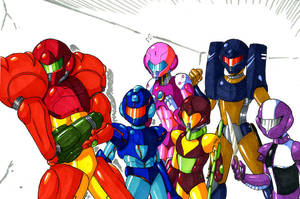 Go Go Varia Rangers by General-RADIX
