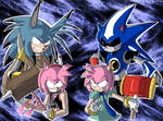 Amy and Metal VS Amy and Metal by General-RADIX