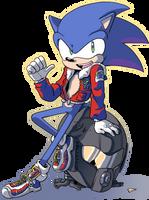 Manga Sonic by General-RADIX