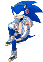 Sonic Seragaki by General-RADIX
