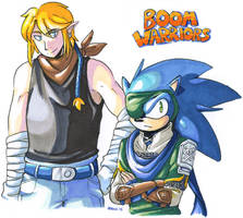 boom warriors by General-RADIX