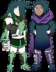 the wonder twins by General-RADIX