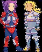 Konoko-Kura swap by General-RADIX
