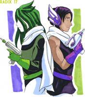 Retro Twins by General-RADIX