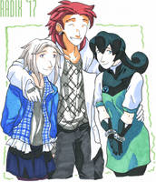 Three Kids by General-RADIX