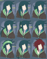 Hairstyle Guff with Durandal by General-RADIX