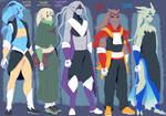 Five Gods Revamp by General-RADIX