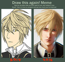 Improvement meme by Rain-Strive