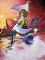 Yuna by Melpomne