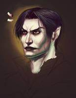 Vampire Raziel Portrait (WIP) by Amosis