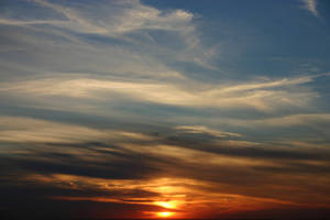 Sunset Over NYC by JetStrike