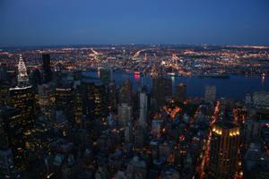 NYC skyline by JetStrike