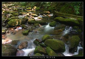 Mountain River by JetStrike