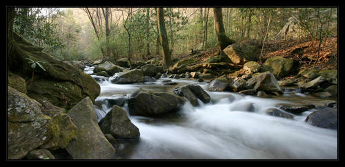 Jones Gap River by JetStrike
