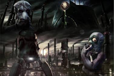 Oddworld - Abe's Exoddus Soulstorm Brewery |Fanart by DDxxCrew
