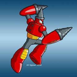 DCN-027 Drill Man by MSipher